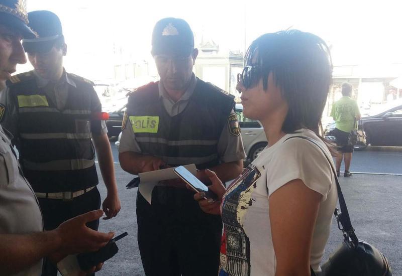 Бакинская полиция просвещает водителей и пешеходов