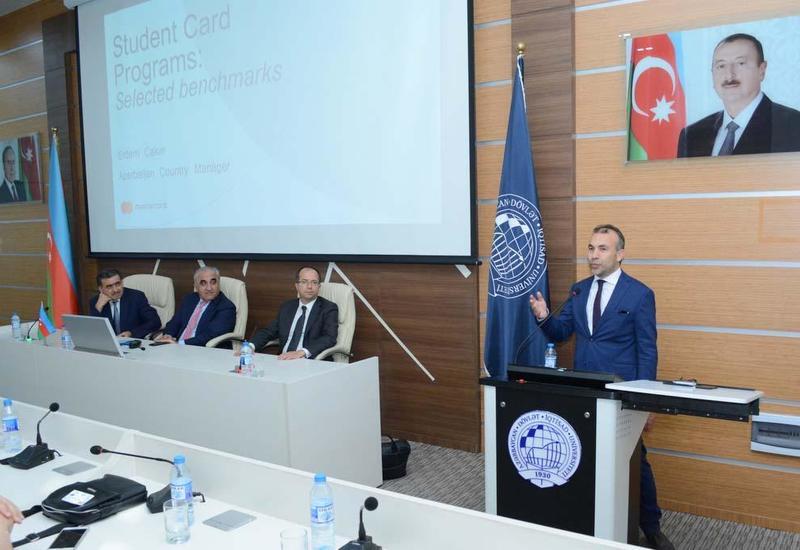 В UNEC состоялась презентация «Единой студенческой карты»