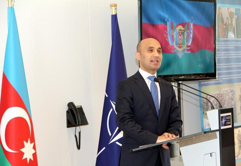 В штаб-квартире НАТО отметили День ВС Азербайджана