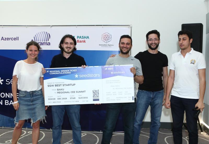 При поддержке Azercell был выбран победитель конкурса «Seedstars Baku 2019»