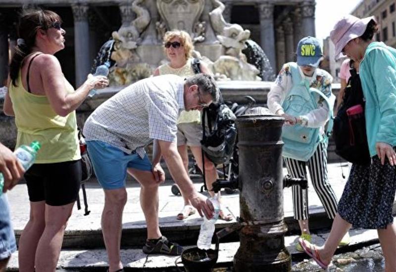 В Италии три человека стали жертвами аномальной жары