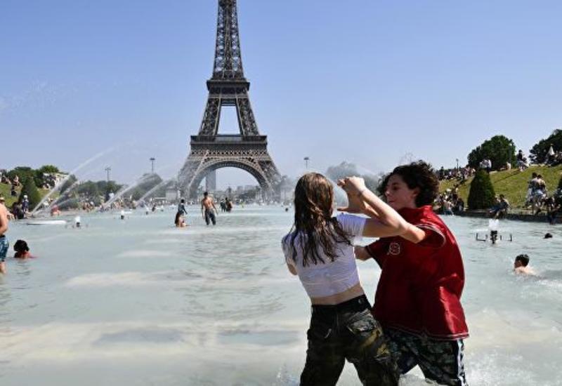 Во Франции побит абсолютный температурный рекорд