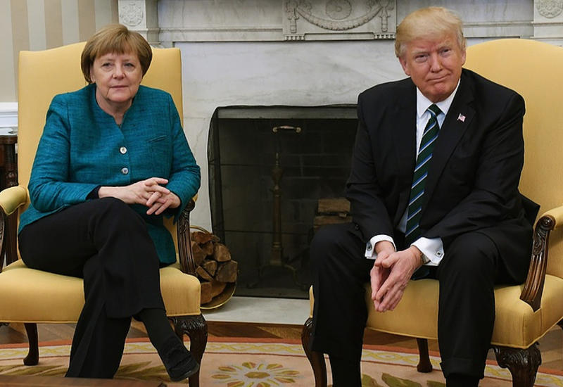 Ангела Меркель обсудила с Дональдом Трампом возможность переговорного процесса по Ирану