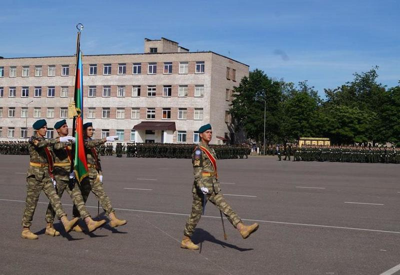 Азербайджанские военнослужащие примут участие в параде в Минске