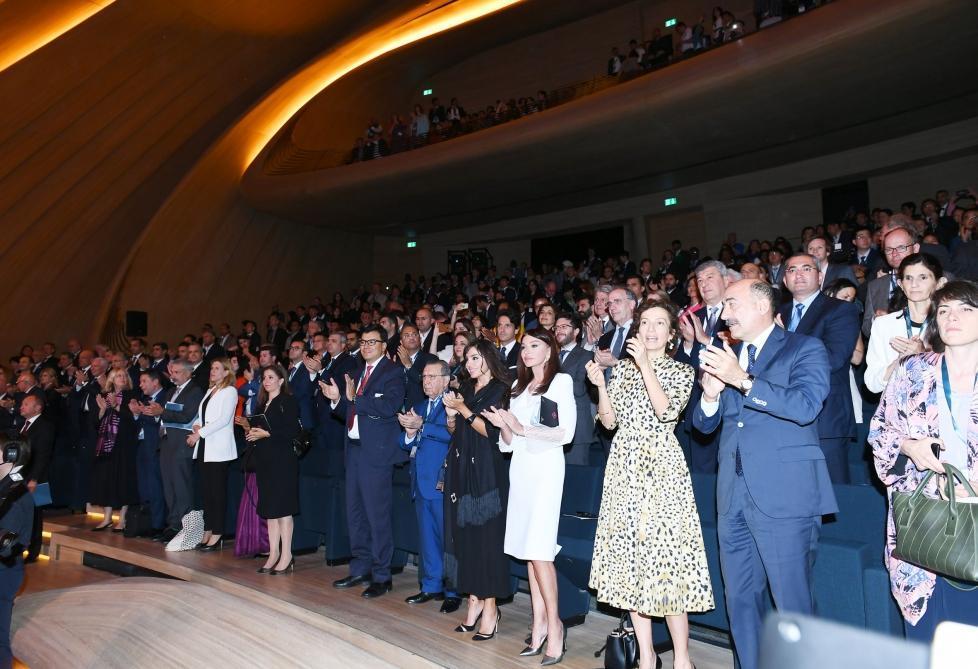 Мехрибан Алиева приняла участие в церемонии открытия 43 сессии Комитета всемирного наследия ЮНЕСКО в Баку
