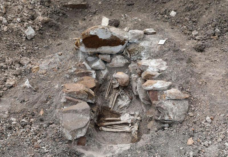На Човдарском месторождении цветных металлов обнаружены древние захоронения