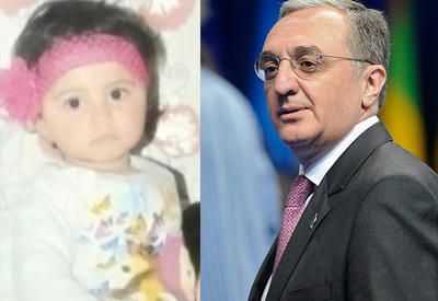 Глава МИД Армении отметил годовщину убийства двухлетней Захры поездкой в оккупированный Карабах