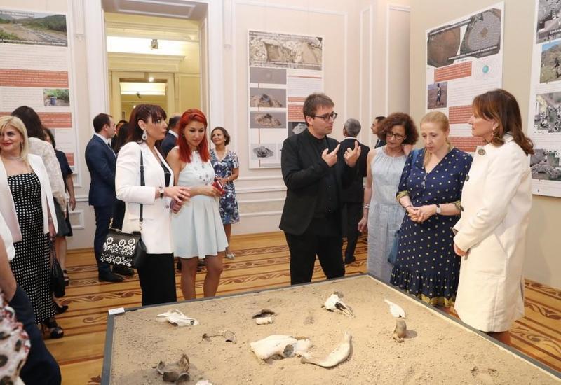 В Баку представлены редкие археологические находки