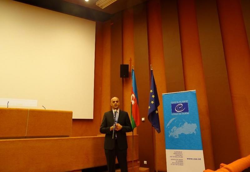 """В штаб-квартире СЕ в Страсбурге состоялся показ документального фильма """"Командировка в вечность"""""""