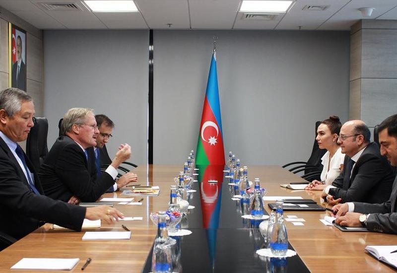 Экс-посол США на обсуждениях энергетических и траспортных проектов Азербайджана