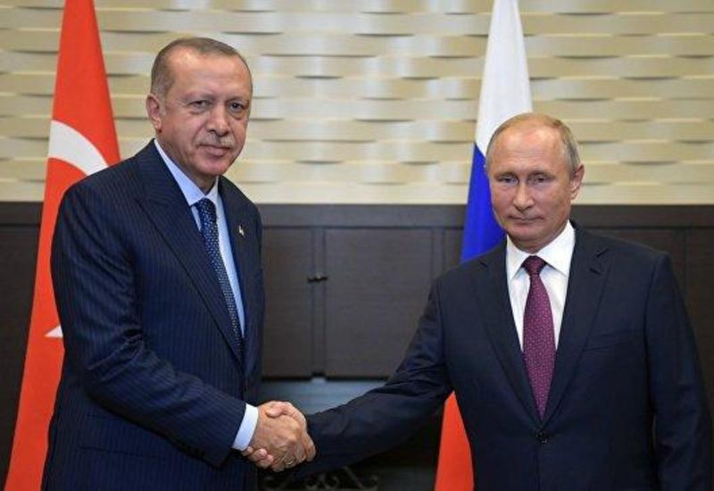 Путин и Эрдоган обсудили по телефону Сирию и Ливию