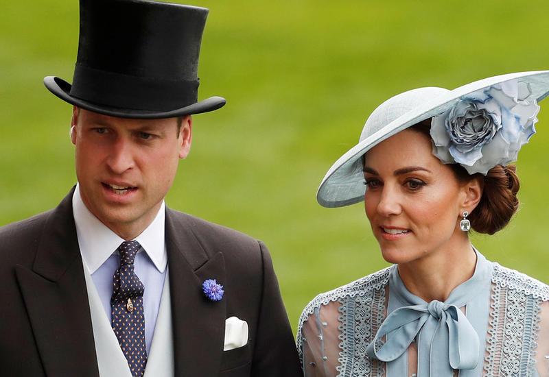 Кейт Миддлтон и принц Уильям прибыли на крещение сына Маркл и принца Гарри