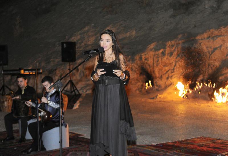 Вице-президент Фонда Гейдара Алиева Лейла Алиева приняла участие в вечере йоги и поэзии в заповеднике «Янардаг»