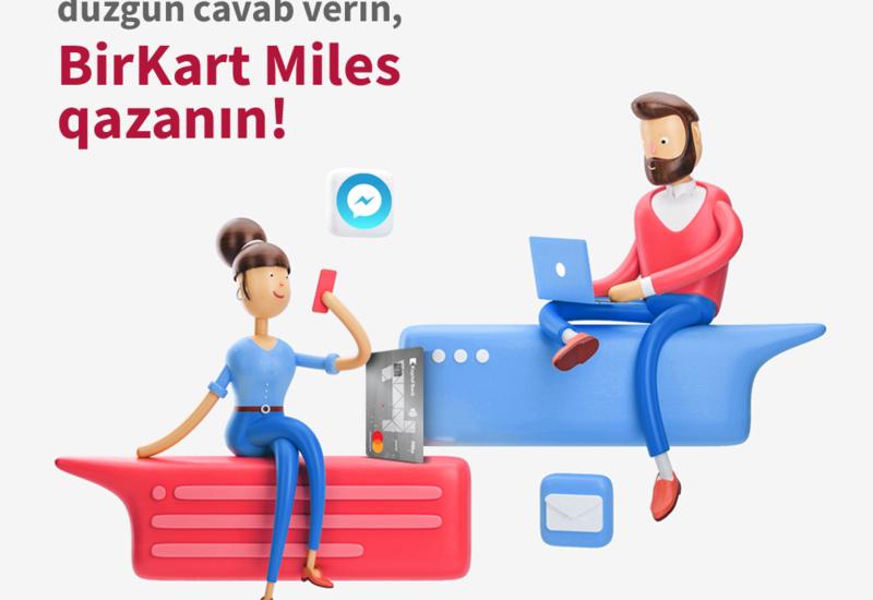 BirKart проводит конкурс для пользователей Facebook Messenger!