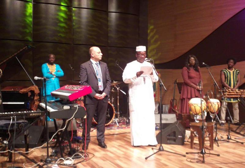 В Центре мугама прошел концерт джаз-группы из Мали