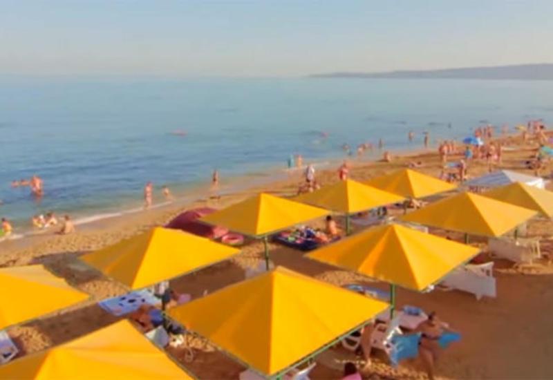 Температура воды на пляжах Абшерона на завтра