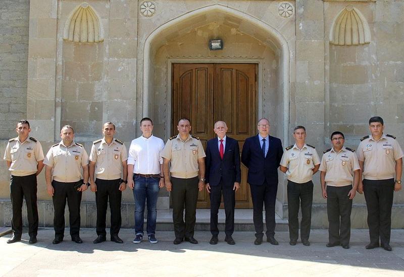 Эксперты НАТО в Военной академии ВС Азербайджана