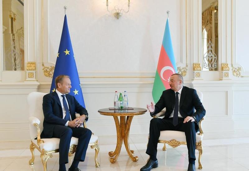 Президент Ильхам Алиев: Уверен, что в предстоящие годы мы продолжим развитие нашего партнерства в позитивном русле