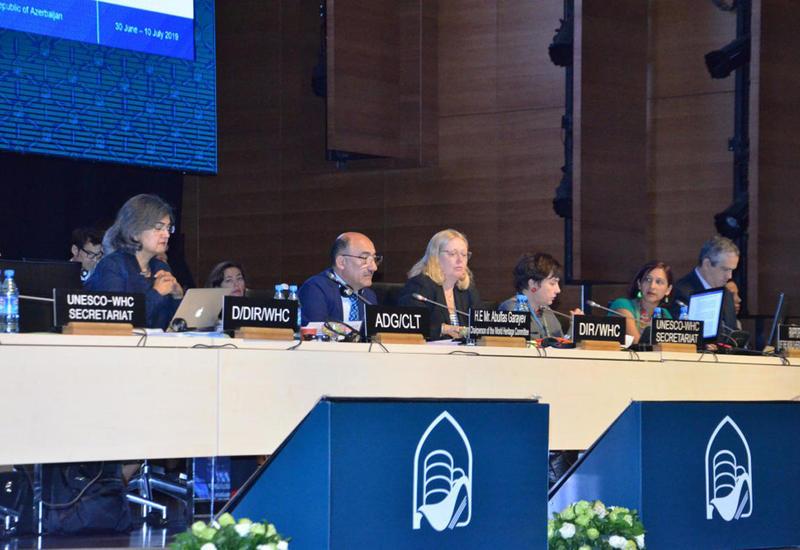 В Баку прошло последнее рабочее заседание 43-й сессии Комитета Всемирного наследия ЮНЕСКО