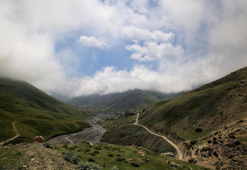 Хыналыг: невероятные пейзажи и дорога к облакам