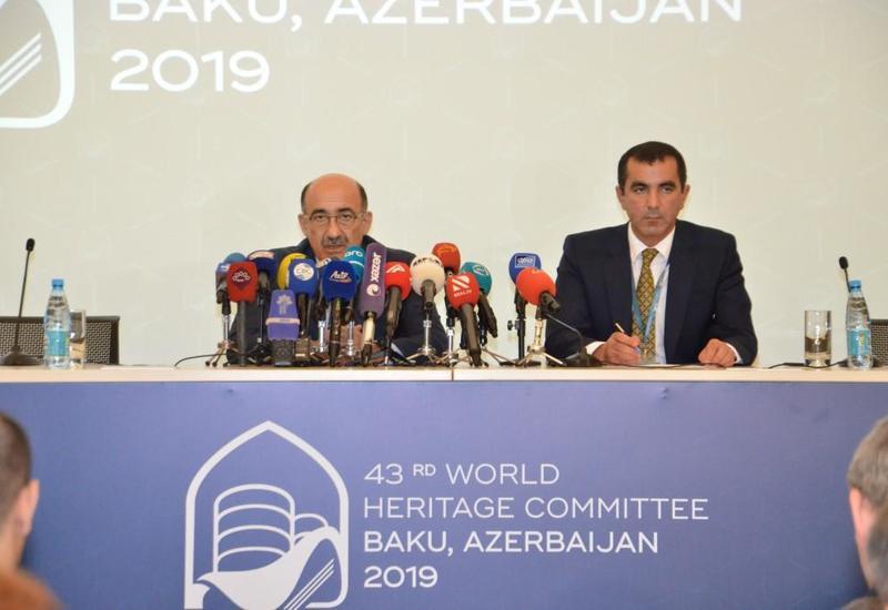 Абульфас Гараев: На 43-й сессии в Список Всемирного наследия ЮНЕСКО вошли 29 номинаций