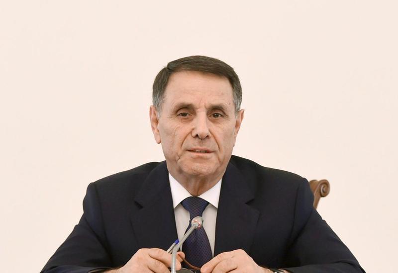 Новруз Мамедов о самофинансировании городов и районов Азербайджана