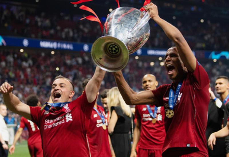 Названы суммы выплат клубам за участие в Лиге чемпионов