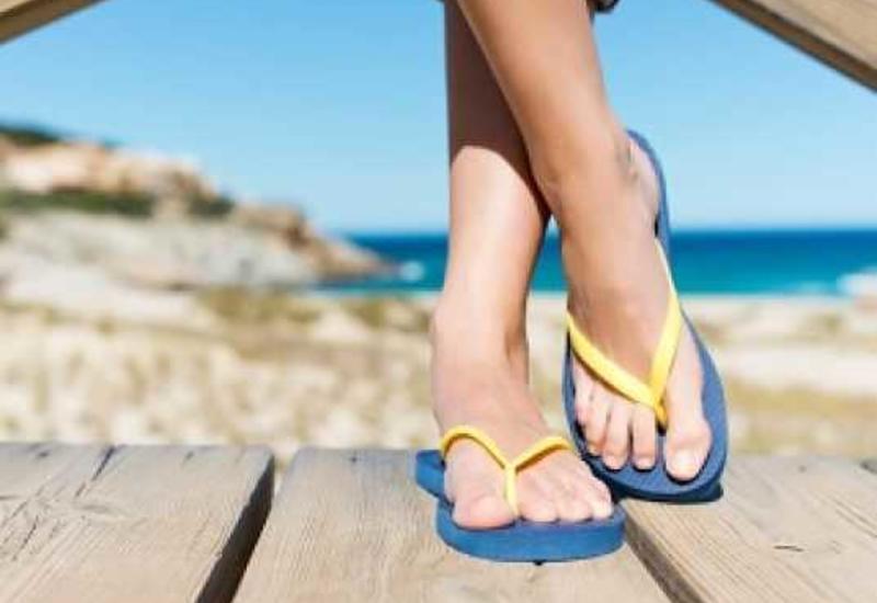 Пляжная обувь опасна дляздоровья