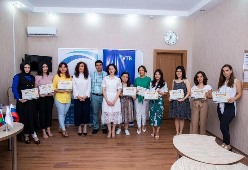 Банк ВТБ (Азербайджан) поддержал тренинг по преподаванию русского языка как иностранного
