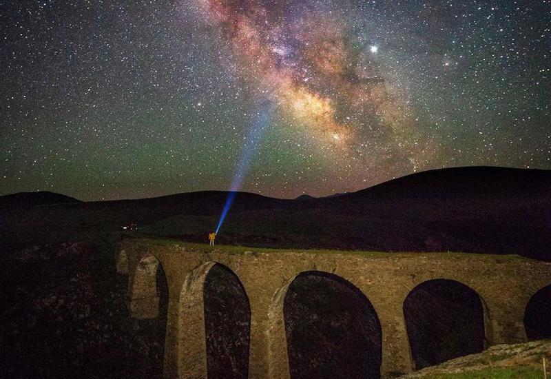 Невероятный мост в Гедабеке в объективе Вахида Гасанова