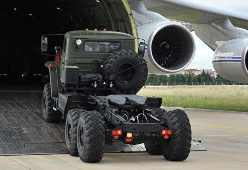 В Турции приземлился еще один самолет с компонентами С-400