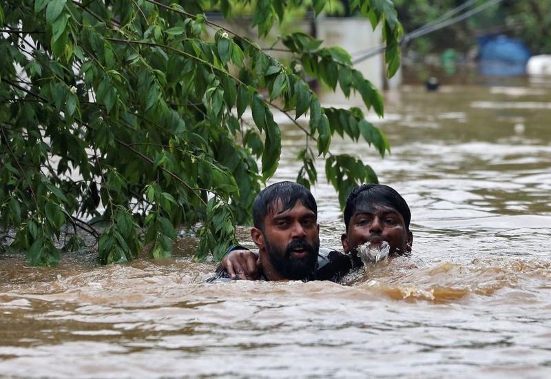 Наводнения в Индии, есть пострадавшие