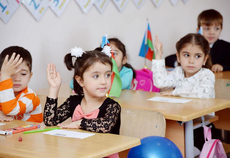 В Азербайджане наблюдается динамика роста приема в первые классы