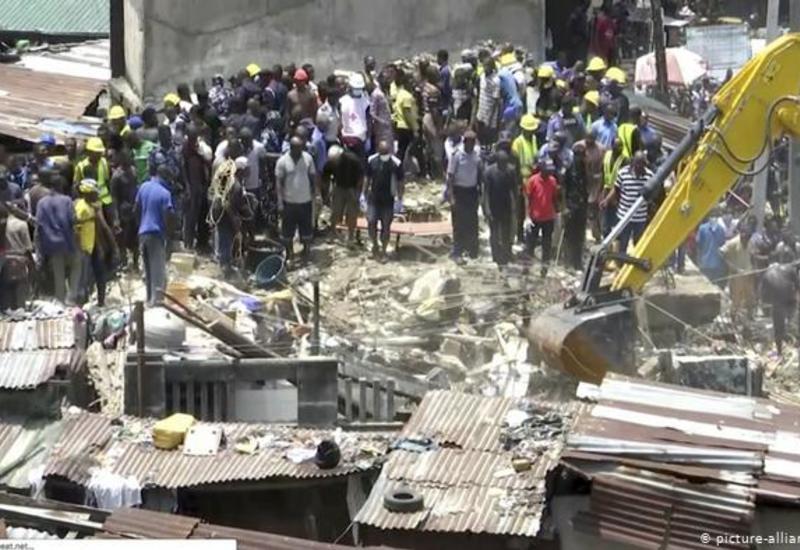 В Нигерии обрушилось здание, есть погибшие