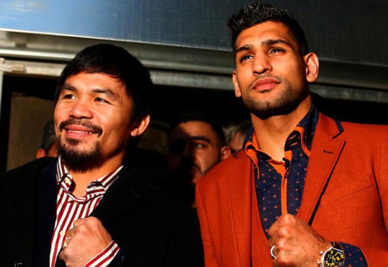 Боксеры Пакьяо и Хан проведут поединок в Эр-Рияде