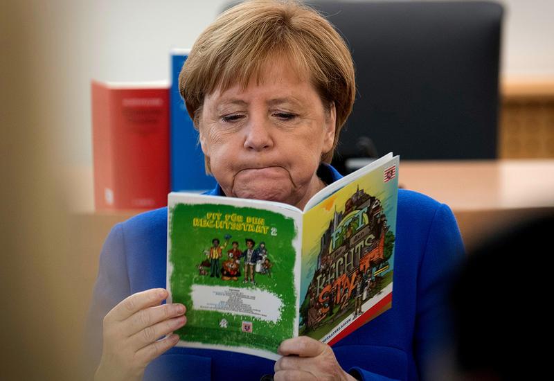 Появились новые свидетельства болезни Меркель