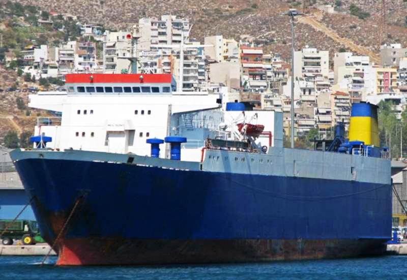 У берегов Нигерии захвачено турецкое грузовое судно