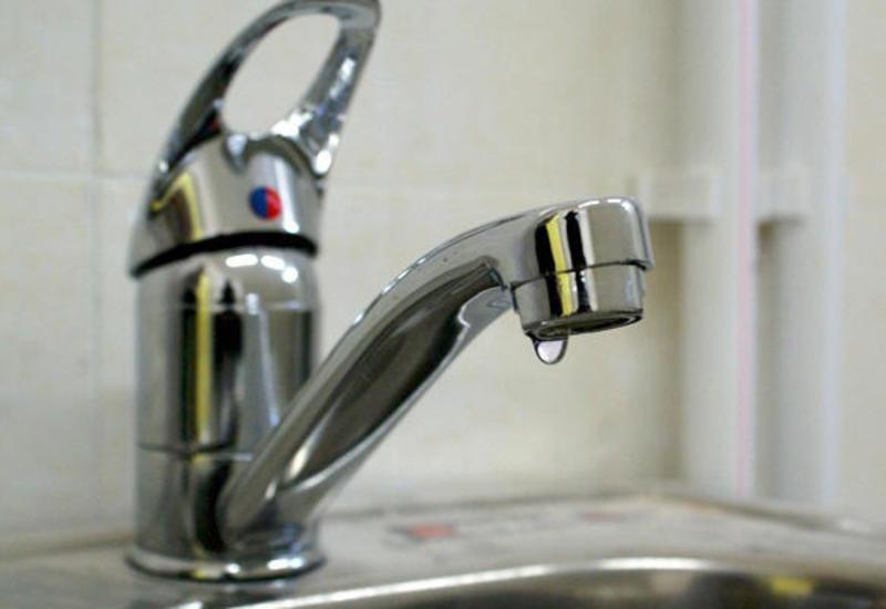 В одном из районов Баку отключили воду