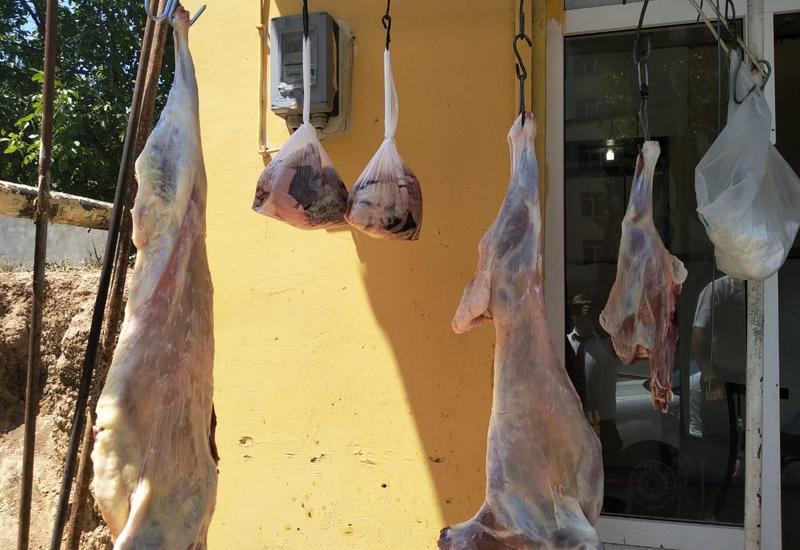 В Азербайджане ведут борьбу с незаконным забоем скота