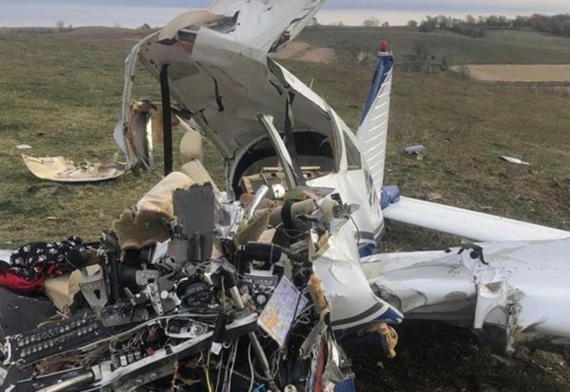 В Австрии рухнул самолет, есть погибшие