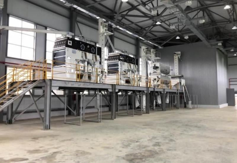 В Хачмазе появился завод по переработке зерна