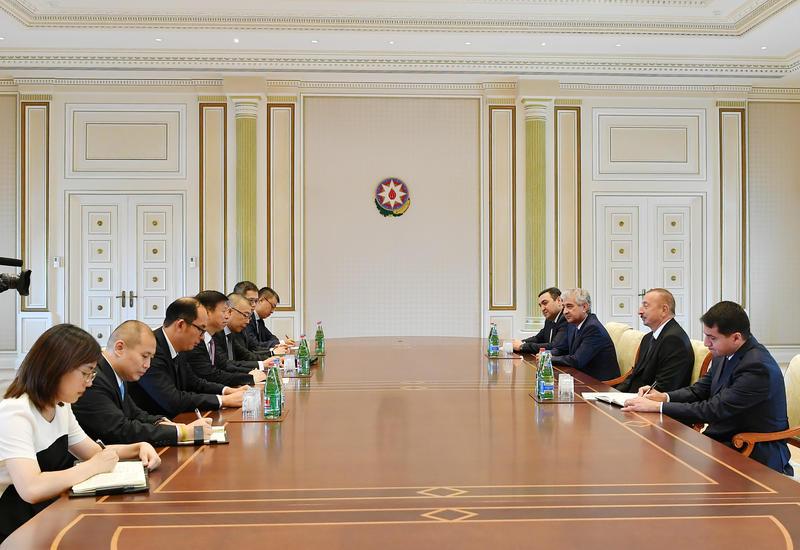 Президент Ильхам Алиев: Прибытие в Азербайджан грузового поезда из Китая - показатель хороших перспектив нашего сотрудничества в экономической и транспортной сферах
