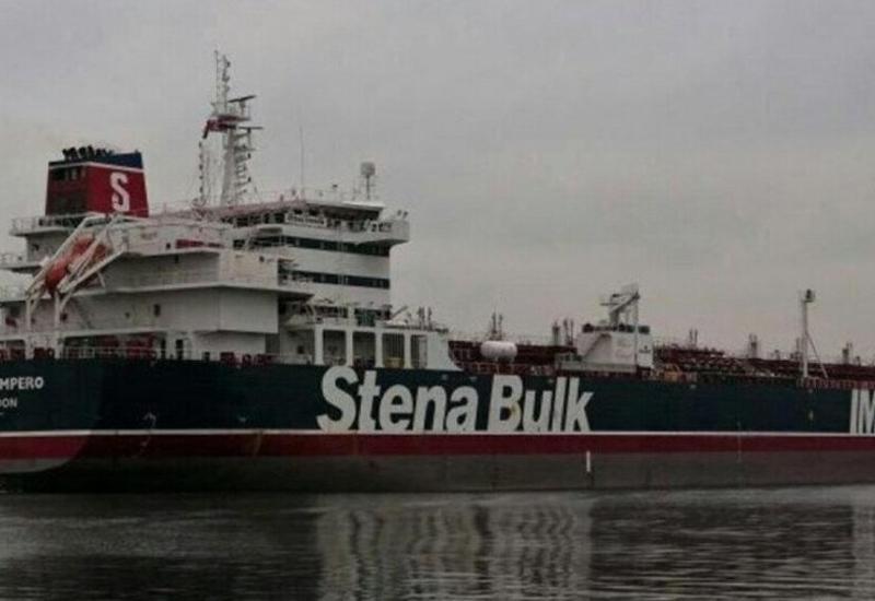 Появилось видео захвата британского танкера в Иране