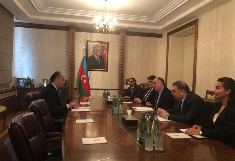 Эльмар Мамедъяров принял посла Иордании