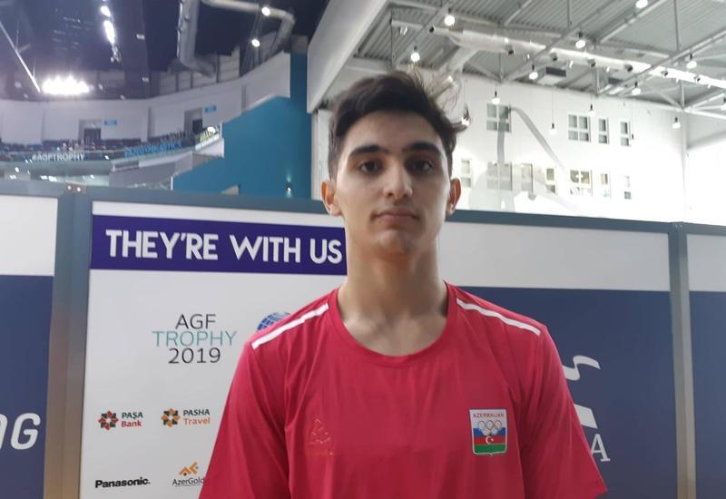 EYOF Баку 2019: Самед Мамедли вышел в финал соревнований по спортивной гимнастике