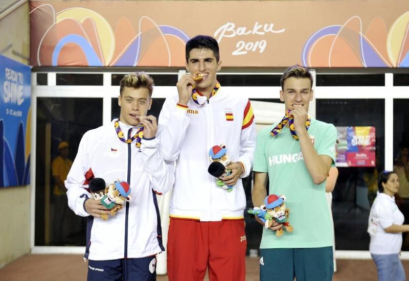 EYOF Baku 2019: Испанец Марио Ревенга завоевал золото в беге на 110 метров с препятствиями