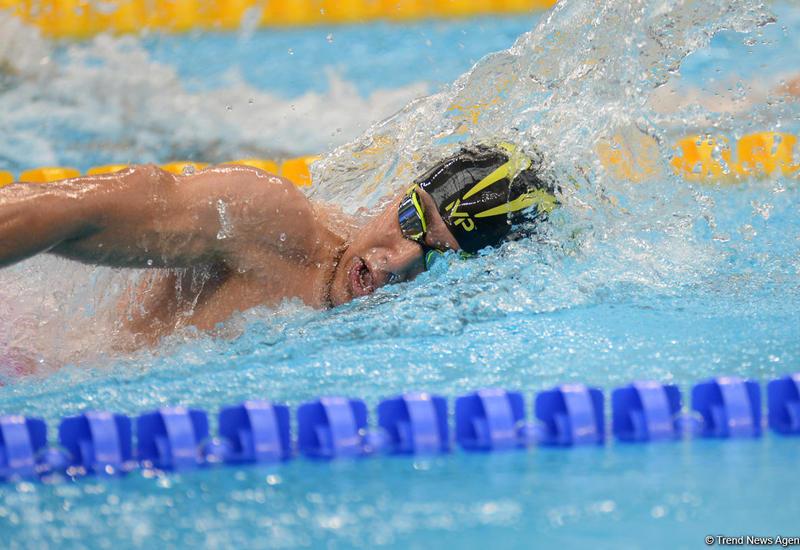 Рамиль Вализаде вышел в финал соревнований по плаванию в рамках EYOF Baku 2019