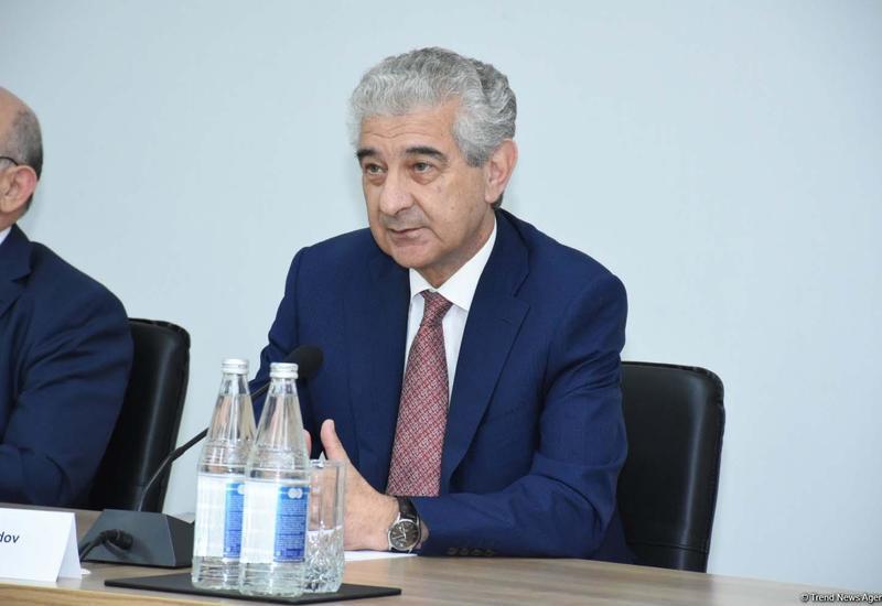 Али Ахмедов на переговорах с заведующим отделом международных связей ЦК Компартии Китая