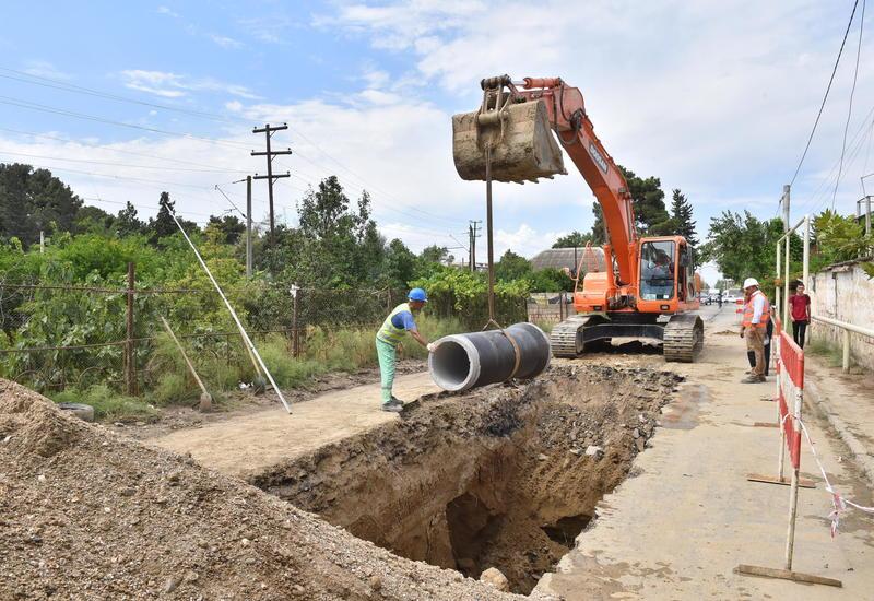 В регоинах Азербайджана обновляются системы водоснабжения и канализации