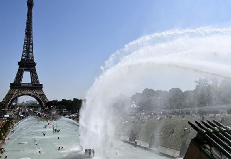 В Париже установлен новый температурный рекорд